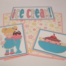 Ice Cream Girl - 5 piece mat set