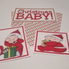 I'm The Christmas Baby - 5 piece mat set