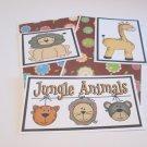 Jungle Animals a - 5 piece mat set