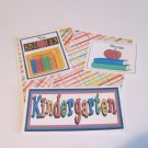 Kindergarten - 5 piece mat set