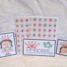 Princess - 5 piece mat set