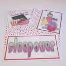 Sleepover b - 5 piece mat set