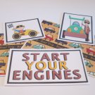 Start Your Engine b - 5 piece mat set