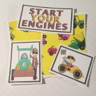 Start Your Engines - 5 piece mat set