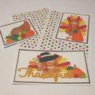 Thankful Turkey - 5 piece mat set
