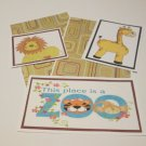 This Place Is A Zoo a - 5 piece mat set