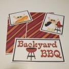Backyard BBQ - 5 piece mat set