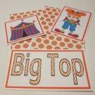 Big Top Girl - 5 piece mat set