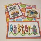 Easter Bunny Girl b - 5 piece mat set