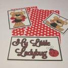 My Little Ladybug - 5 piece mat set