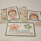 Princess a - 5 piece mat set