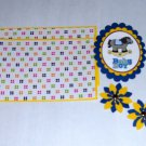 Baby Boy Horse - 5 pc Embellishment Set