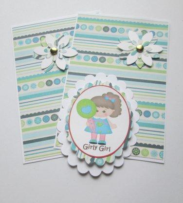 Girly Girl a - 5 pc Embellishment Set