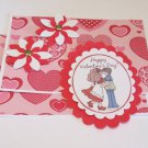 Happy Valentines Day Couple 2 - 5 pc Embellishment Set