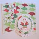 Ho Ho Ho Santa c - 5 pc Embellishment Set