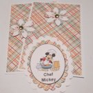 MM Chef Mickey - 5 pc Embellishment Set