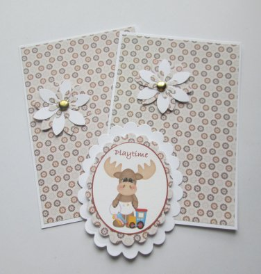 Playtime Moose - 5 pc Embellishment Set