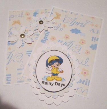MM Rainy Days - 5 pc Embellishment Set