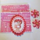 Valentine Girl b - 5 pc Embellishment Set