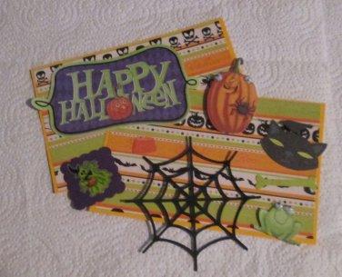 Halloween 63 - Mat Set