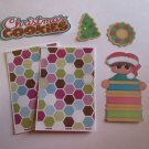 Christmas Cookies Boy 1 - Printed Piece/Title & Mats set