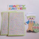 Happy Easter Boy 1a - Printed Piece/Title & Mats set