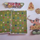 Pizza Lovers Boy - Printed Piece/Title & Mats set