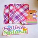 Splish Splash Girl 1 - Printed Piece/Title & Mats set
