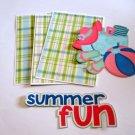 Summer Fun - Printed Piece/Title & Mats set