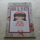 "Nurses Call The Shots - 5x7"" Greeting Card with envelope"