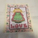 "Love Angel - 5x7"" Greeting Card with envelope"