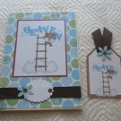 """Angels 1 - 5x7"""" Greeting Card with Matching Tag and envelope"""