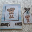 """Angel 2 - 5x7"""" Greeting Card with Matching Tag and envelope"""