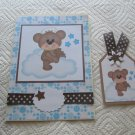 """Angel 3 - 5x7"""" Greeting Card with Matching Tag and envelope"""