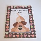 "What's Doggone New 1 - 5x7"" Greeting Card with envelope"