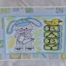 """Baby Boy Bunny - 5x7"""" Greeting Card with envelope"""