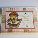 """Baking Up Some Christmas Goodies b - 5x7"""" Greeting Card with envelope"""