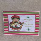 """Baking Up Some Christmas Goodies c - 5x7"""" Greeting Card with envelope"""