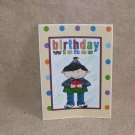 """Birthday Wishes Boy - 5x7"""" Greeting Card with envelope"""