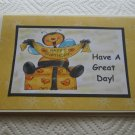 """Have A Great Day Bee - 5x7"""" Greeting Card with envelope"""