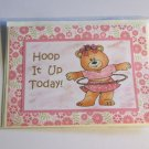 """Hoop It Up Today - 5x7"""" Greeting Card with envelope"""