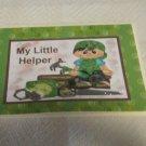 "My Little Helper Boy - 5x7"" Greeting Card with envelope"