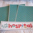At The Hospital b - 4pc Mat Set