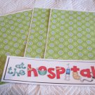 At The Hospital d - 4pc Mat Set