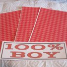 100 Percent Boy a - 4pc Mat Set