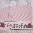 A Day At The Farm a - 4pc Mat Set