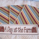A Day At The Farm - 4pc Mat Set
