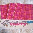 Bachelorette Party a - 4pc Mat Set