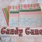 Candy Cane a - 4pc Mat Set