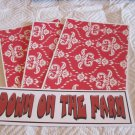 Down On The Farm - 4pc Mat Set